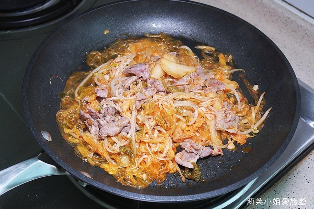 韓式泡菜豬肉寬粉