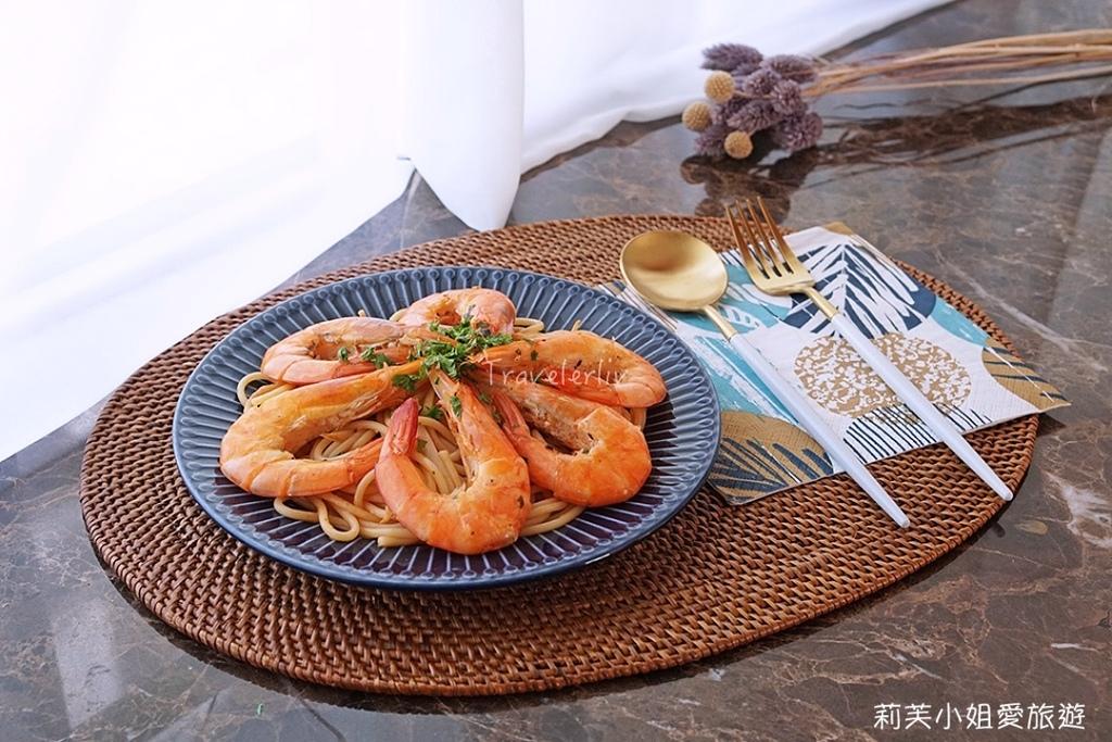 清炒鮮蝦義大利麵