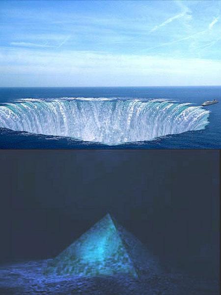 百慕達驚現水晶金字塔 - 百慕達水晶金字塔