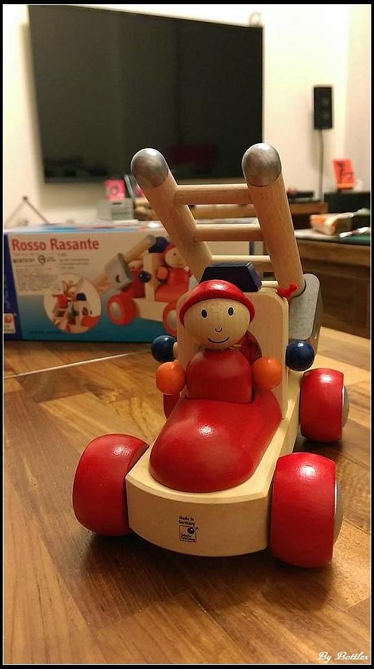 Selecta木製幼兒消防車
