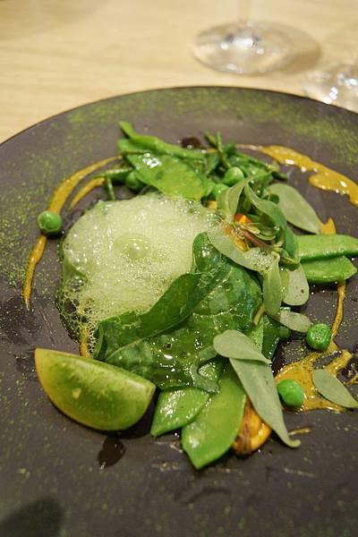 haricot vert-salicorne-moule fumee salade.JPG