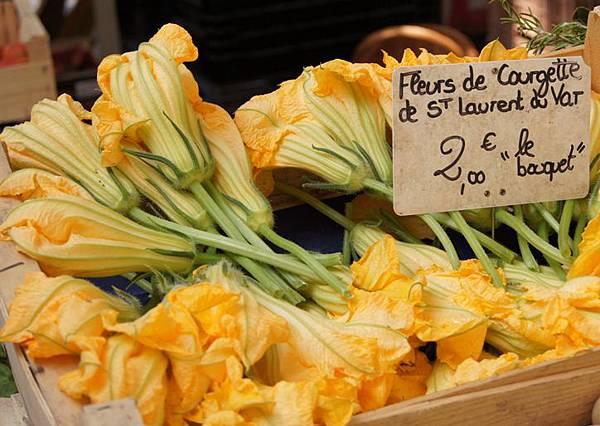fleur Courgette