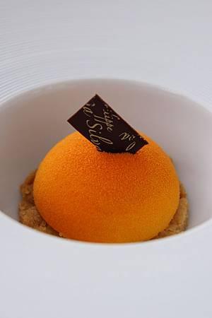 橘子白巧克力