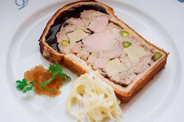 Drouant-Pate  en croute au foie gras 1