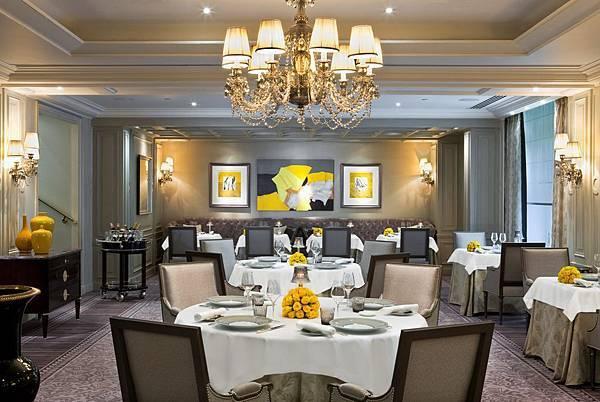 Restaurant L Abeille Shangri La Hotel Paris
