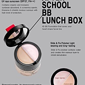 too cool for school 4D BB霜 Lunch Box 37PA++