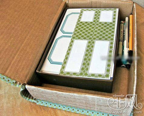 自製書卷式收納盒實用又簡單又省錢!8.