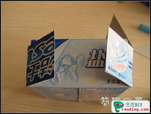 牙膏盒大變身為精美筆筒和收納盒10.