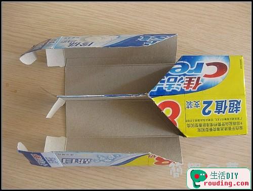 牙膏盒大變身為精美筆筒和收納盒6.