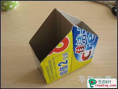 牙膏盒大變身為精美筆筒和收納盒7.