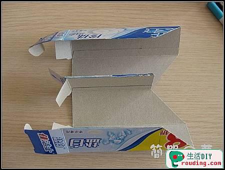 牙膏盒大變身為精美筆筒和收納盒8.