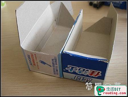 牙膏盒大變身為精美筆筒和收納盒9.