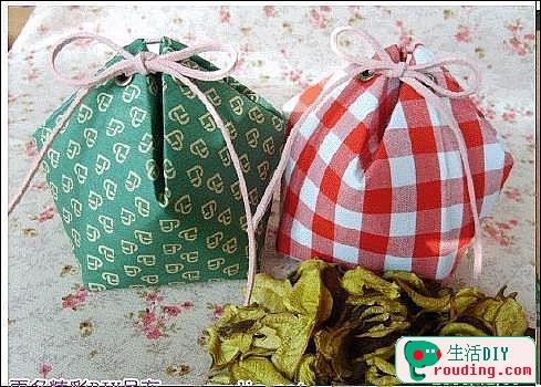 牛奶盒改造漂亮的禮品盒1.