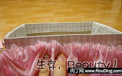 公主風收納盒製作11.