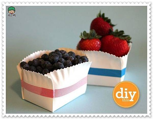蛋糕小紙盤變身家居收納用品1.