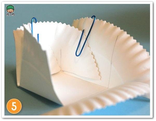 蛋糕小紙盤變身家居收納用品6.