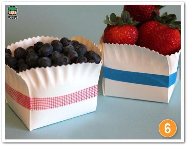 蛋糕小紙盤變身家居收納用品7.