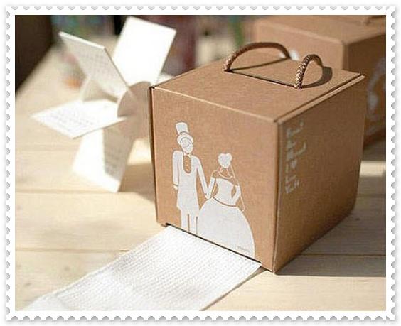 用瓦楞紙板自製diy紙抽盒1.