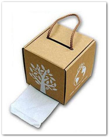 用瓦楞紙板自製diy紙抽盒5.