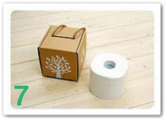 用瓦楞紙板自製diy紙抽盒4.