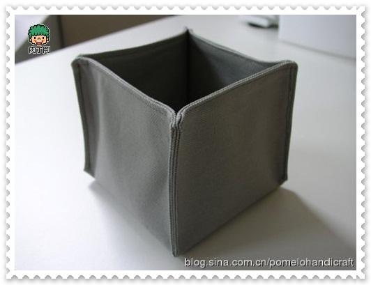 DIY布藝收納盒17
