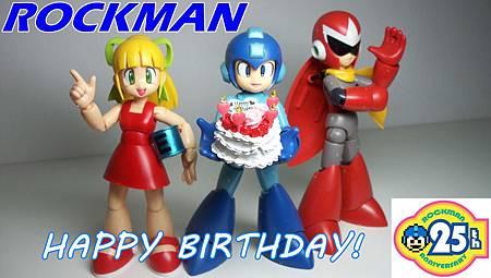 rockman 25th