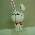 黏土人系列 ─ 愛哭兔(又稱囧兔,看牠的臉XD)