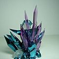 背後的紫水晶