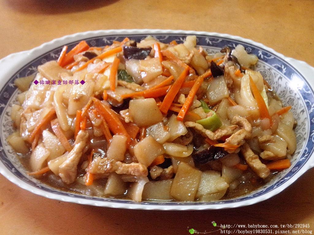 『 私房菜 』肉絲炒板條