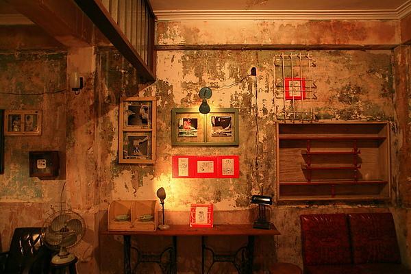 三樓展覽室的牆壁
