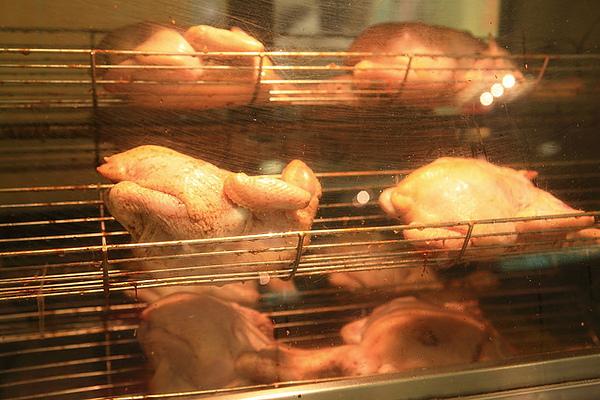 烤箱裡的雞