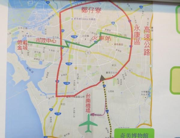 環狀線應往南增加一條到機場的支線