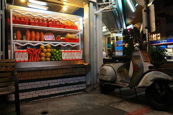 水果冰櫃與偉士牌