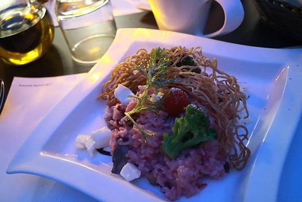 薩圖爾努斯(土星)粉紅醬燉飯.JPG