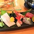 30-IMG_7095-京月特選套餐-旬造姿刺身(甜蝦、鮪魚、油旗魚、鰆魚).JPG