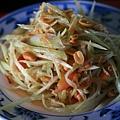 涼拌蝦米青木瓜絲