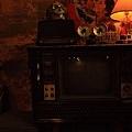 舊式拉門電視