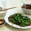 芥藍菜炒羊肉