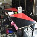 用餐的桌子
