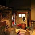 後院,廁所及以前廚房的地方