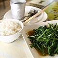 泰式豆醬炒空心菜