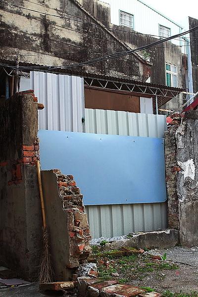 被拆掉的某屋子