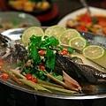 清蒸檸檬魚