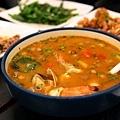 酸辣海鮮湯,超辣