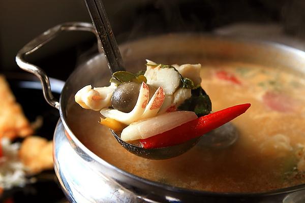 泰式酸辣海鮮湯 配料