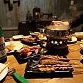 烤雞翅、豬肉串