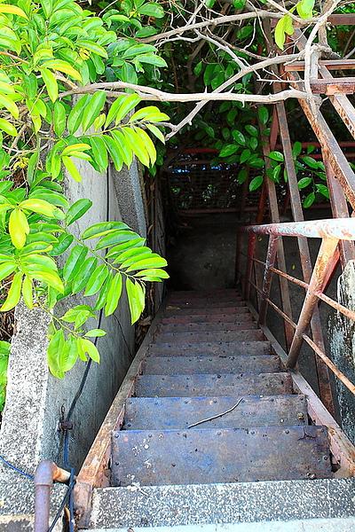 往頂樓的樓梯