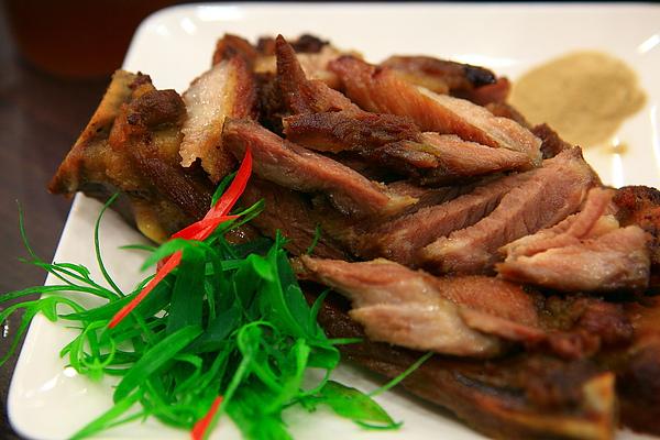 餐,蒜香豬肋排.JPG