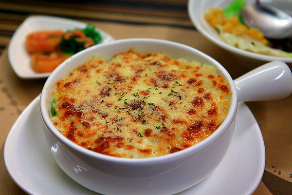 餐,焗烤奶香雞白醬.JPG