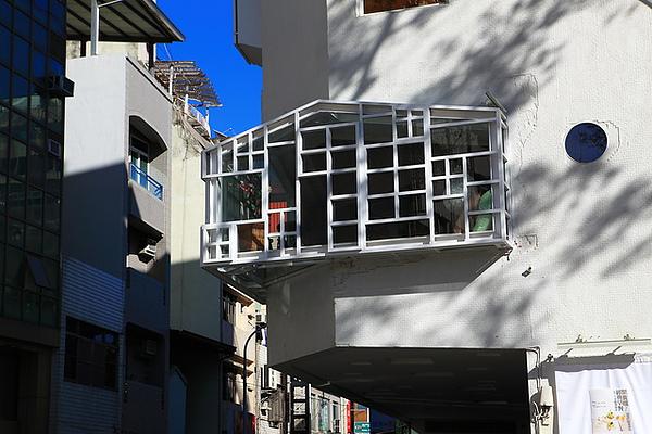 2樓的透明起居空間 近拍